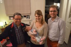 Siem van Dinther, Diana Limpens-Curvers en Renske, Mike Doutzenberg